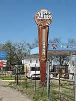 USA - Baxter Springs KS - Old Sign (15 Apr 2009)